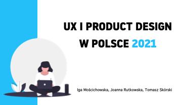 Ilustracja z napisem UX i Product Design w czasach pandemii 2020