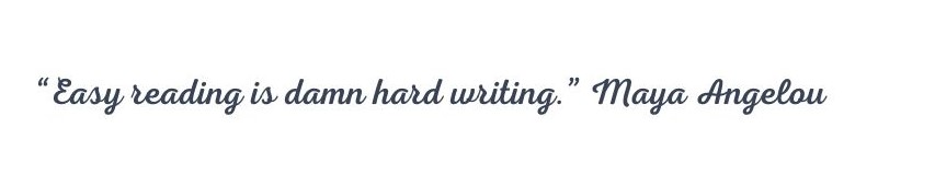 how to write, well