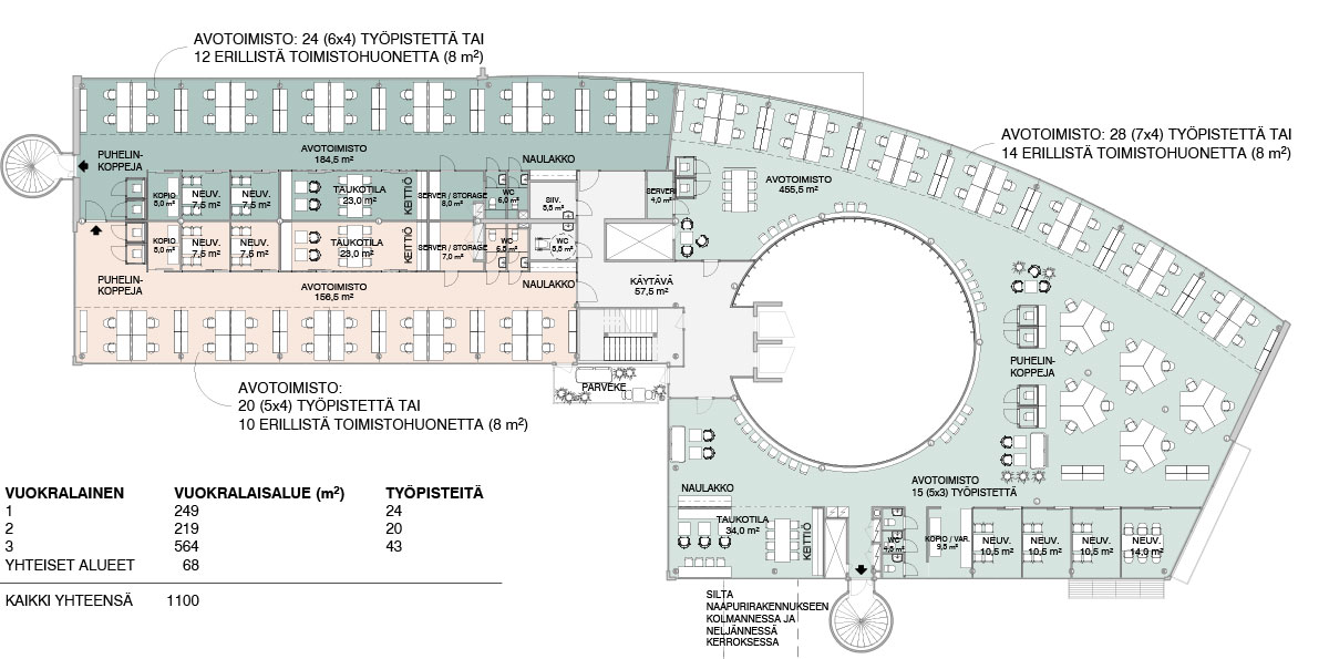Säterinkatu 6 example floorplan