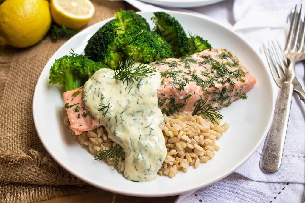 Easy Dinner Recipes: Baked Salmon
