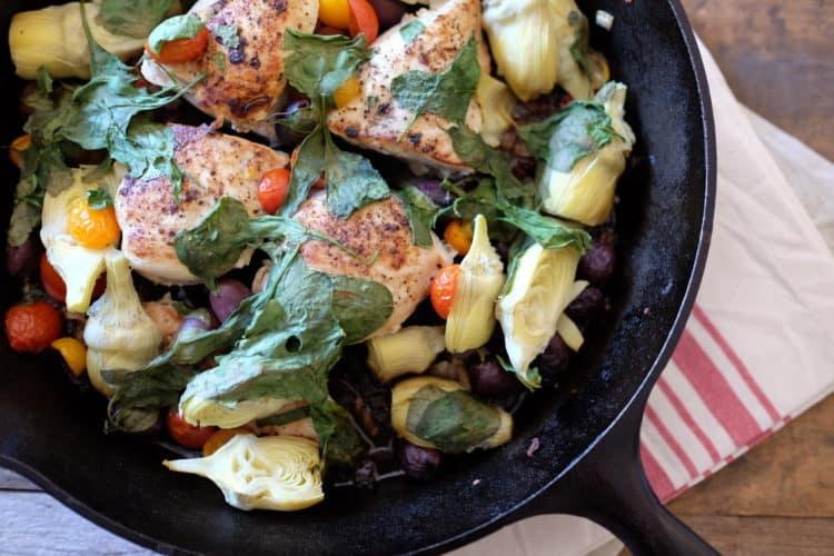 Easy Dinner Recipes: Mediterranean Chicken
