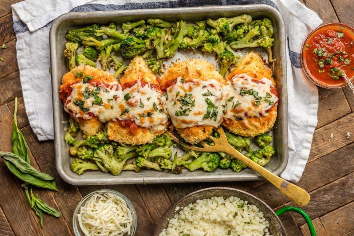 Easy Dinner Recipes: Baked Chicken Parmesan
