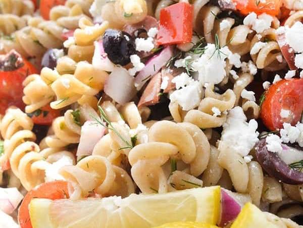 Easy Dinner Recipes: Greek Pasta Salad