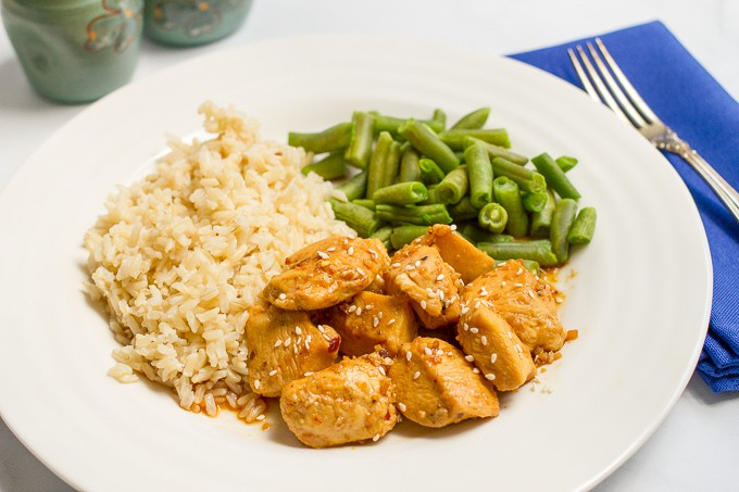 Try These Incredible 15-Minute Meals Tonight: Honey Garlic Chicken