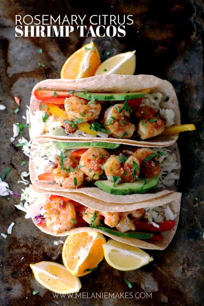 Try These Incredible 15-Minute Meals Tonight: Rosemary Citrus Shrimp Tacos