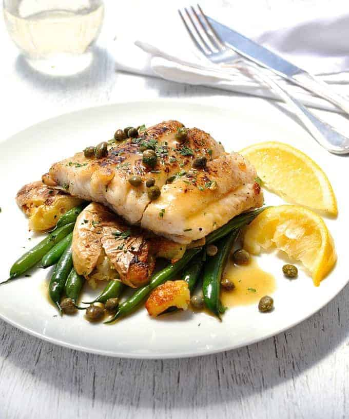 Try These Incredible 15-Minute Meals Tonight: Fish Piccata
