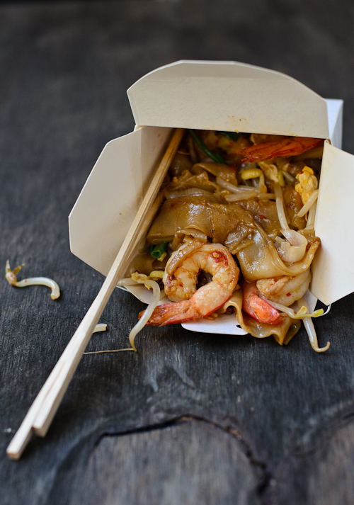 Healthy Meals for One You Can Make Any Night of the Week - Fried Flat Rice Noodle