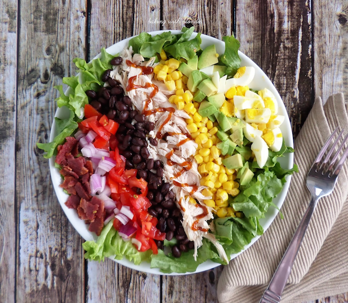 Healthy Meals for One You Can Make Any Night of the Week - Cobb Salad