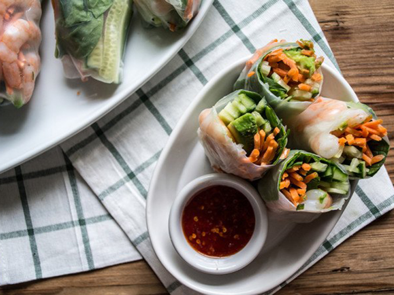 15 Quick Dinner Ideas: Cook a Full Meal in 20 Minutes - Spring Rolls