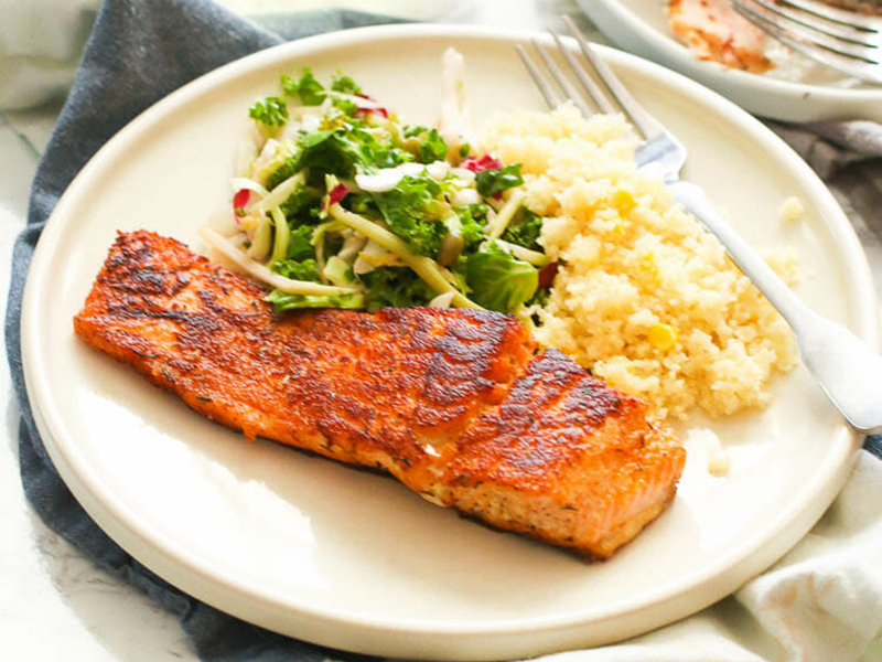 15 Quick Dinner Ideas: Cook a Full Meal in 20 Minutes - Salmon