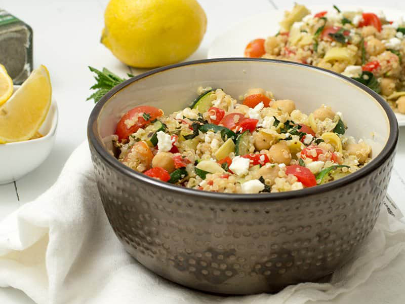 Quick Dinner Ideas: Cook a Full Meal in 20 Minutes - Mediterranean Quinoa