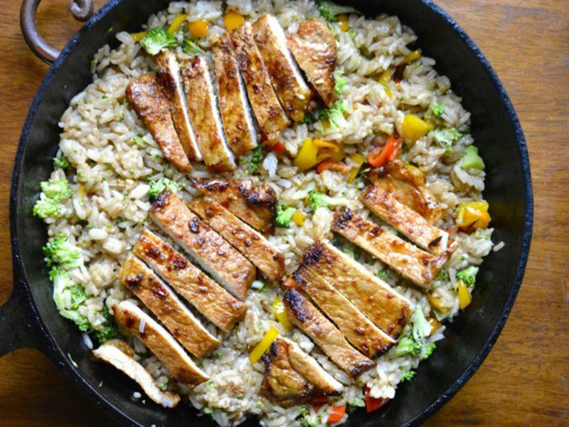 15 Quick Dinner Ideas: Cook a Full Meal in 20 Minutes - Sriracha Pork Chops