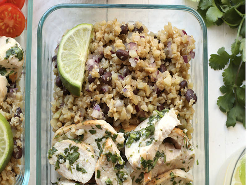 Clean Eating Meal Prep Ideas: Your Week Just Got Easier - Cilantro Lime Chicken