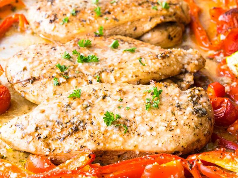 Easy Weeknight Dinner: Chicken Fajitas