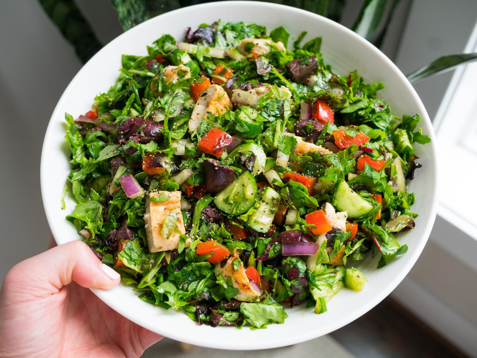 Easy Dinner Ideas for Two: Chopped salad
