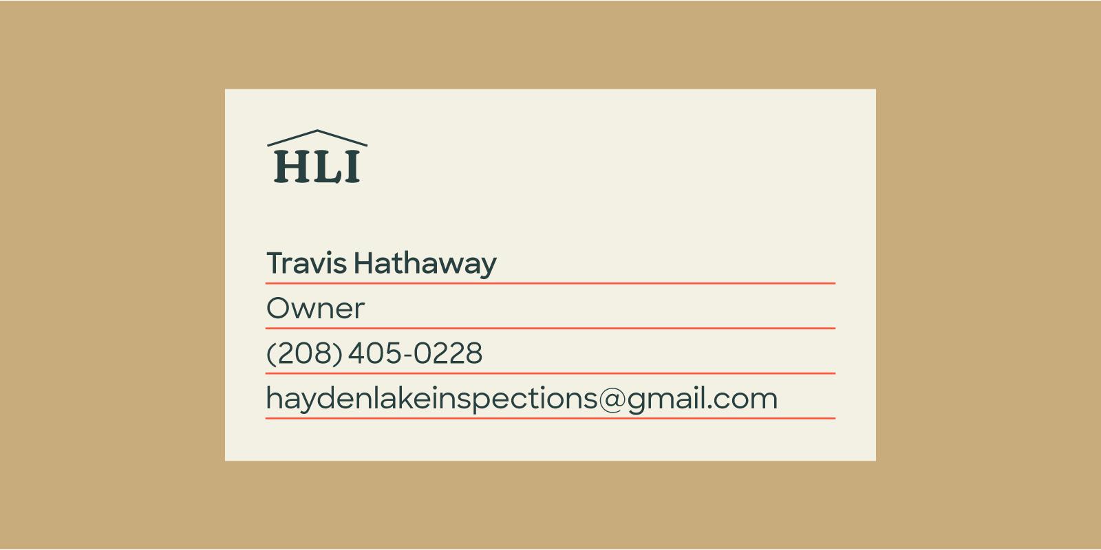 HLI Business Card front