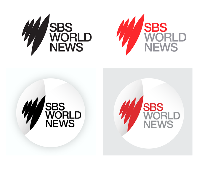 SBS World News 'Lens' logo family
