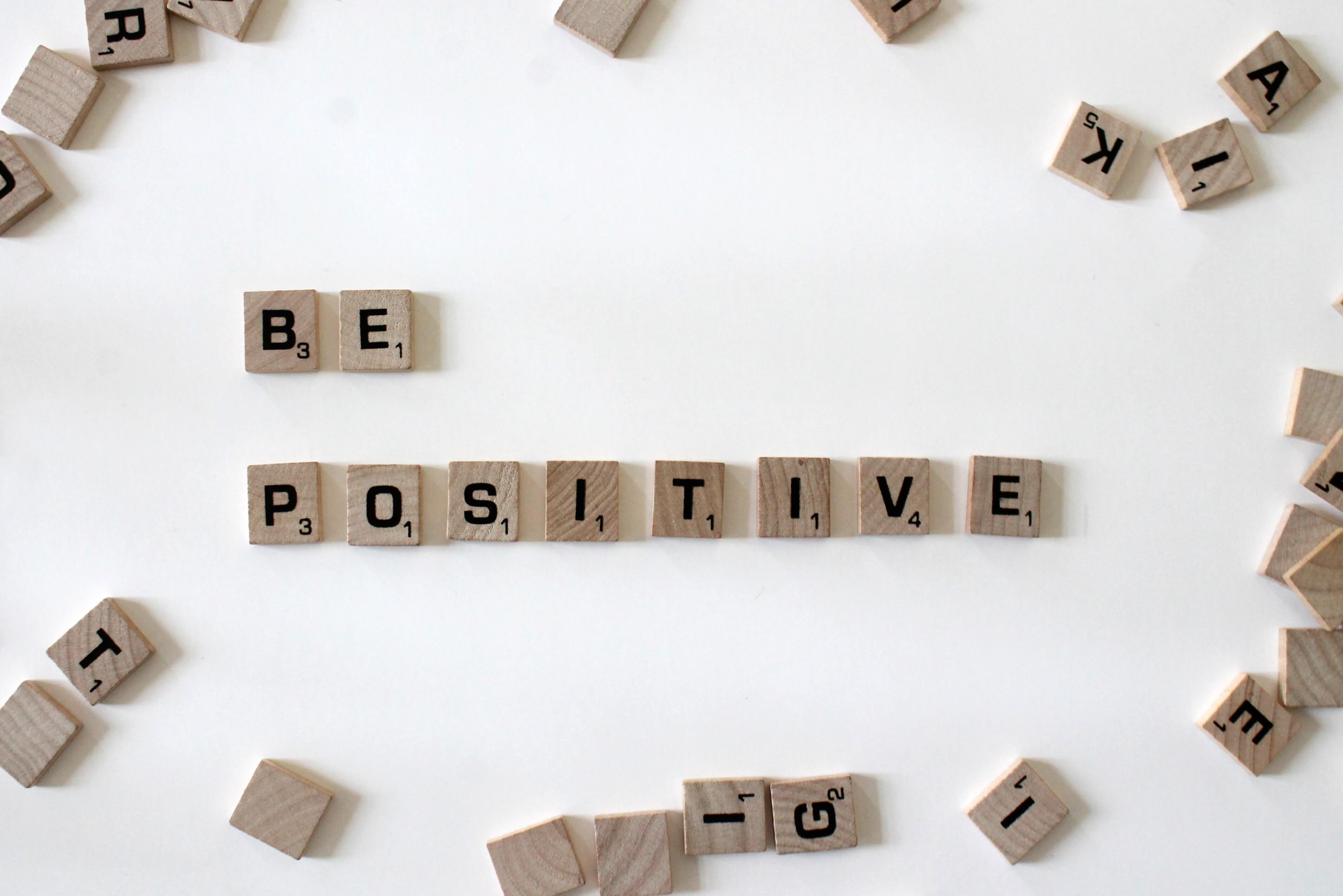 be positive scrabble