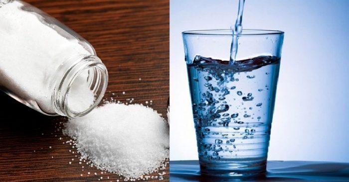 muối pha loãng giúp giảm đau răng