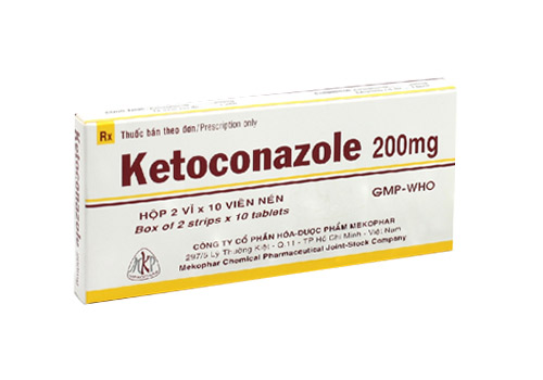 Ketoconazole trị ghẻ ở mông