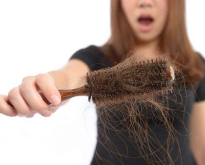 thiếu máu gây ra rụng tóc