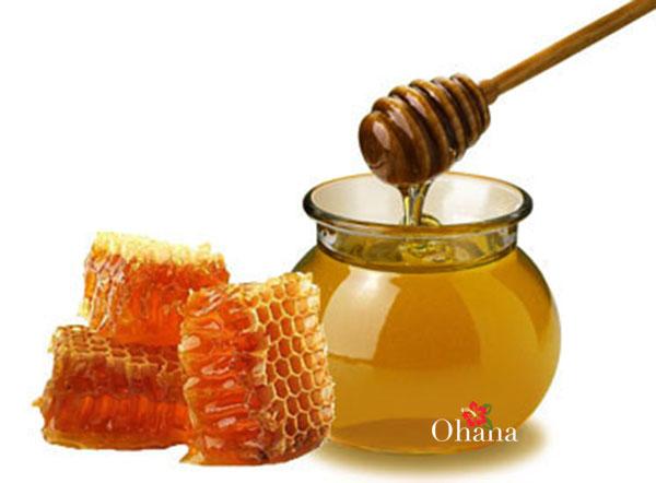 mật ong trị nấm da mặt