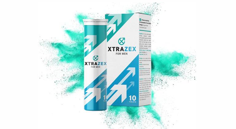 Viên sủi tăng cường sinh lý nam Xtrazex