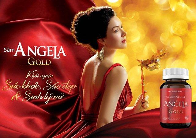 Thuốc trị yếu sinh lý Sâm Angela của nữ