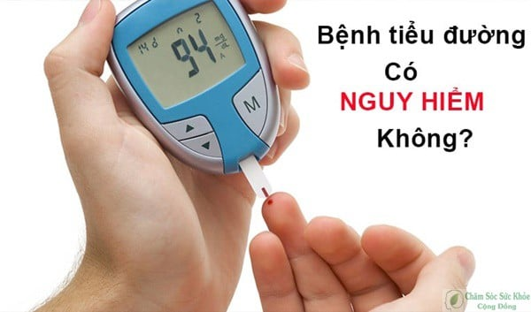bệnh tiểu đường tuýt 2 có nguy hiểm không