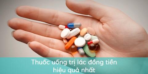 Thuốc Tây chữa bệnh lác đồng tiền