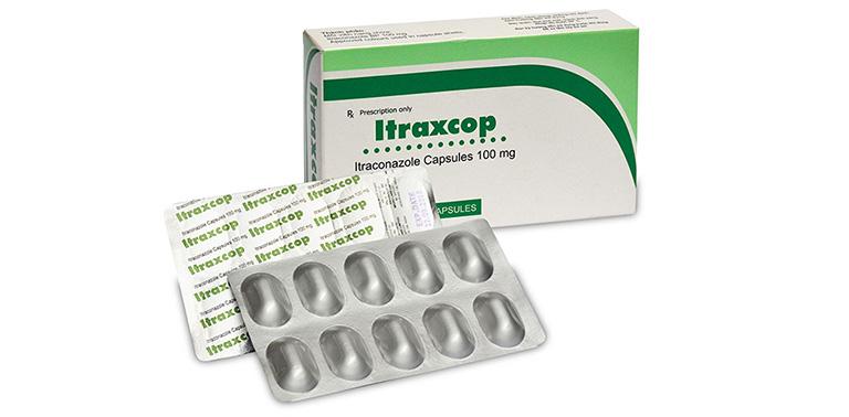 Thuốc dạng uống trị lác đồng tiền Itraxcop