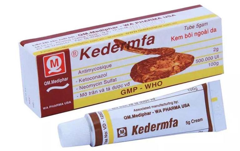 Bảo quản thuốc trị hắc lào Kedermfa