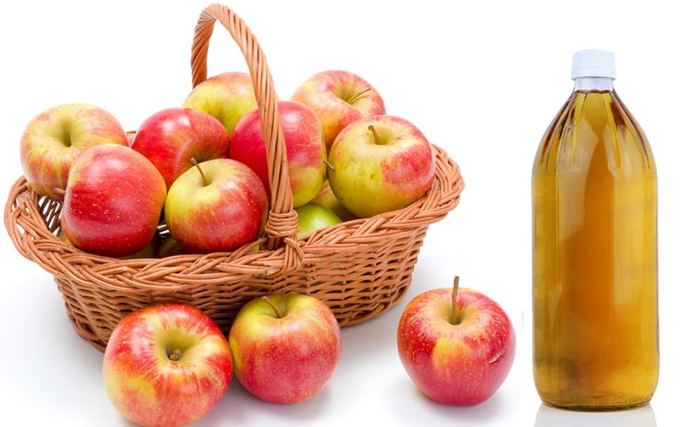 Cách trị lang ben bằng giấm táo