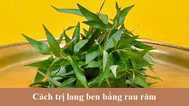 Cách dùng rau răm trị lang beng