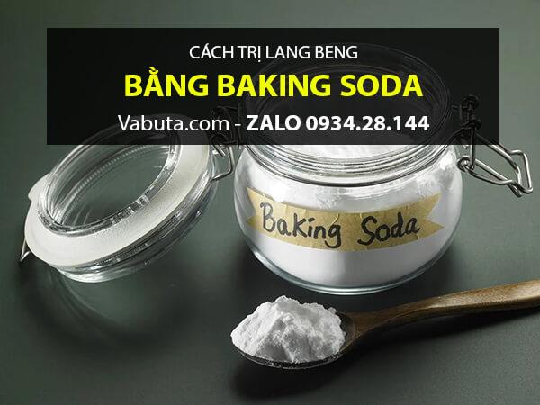 Baking soda trị lang beng