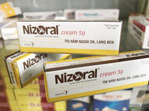 Thuốc trị lang ben Nizoral mua ở đâu