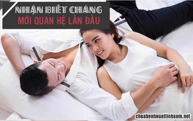 cách nhận biết con trai quan hệ lần đầu