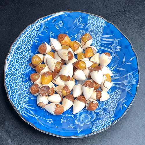 lưu ý lúc ăn hạt bạch quả rang muối