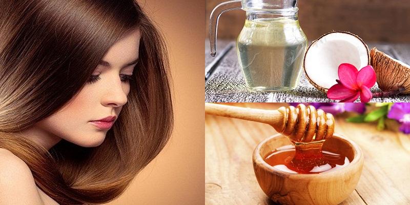 Trị chàm da đầu bằng Ủ tóc bằng dầu dừa