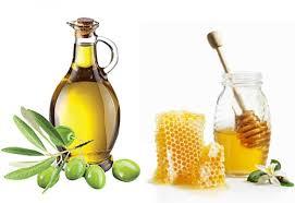 Kết hợp dầu oliu và mật ong trị bệnh chàm