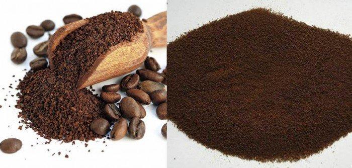 Chữa chàm bằng cám gạo và bột coffee