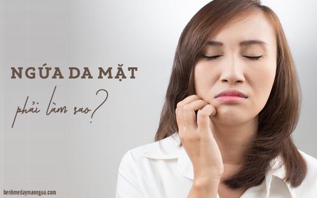Chẩn đoán triệu chứng da mặt bị dị ứng nổi sần ngứa ngáy