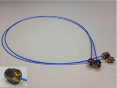 skew matched, phase stable high performance flexible coaxial cable assembly