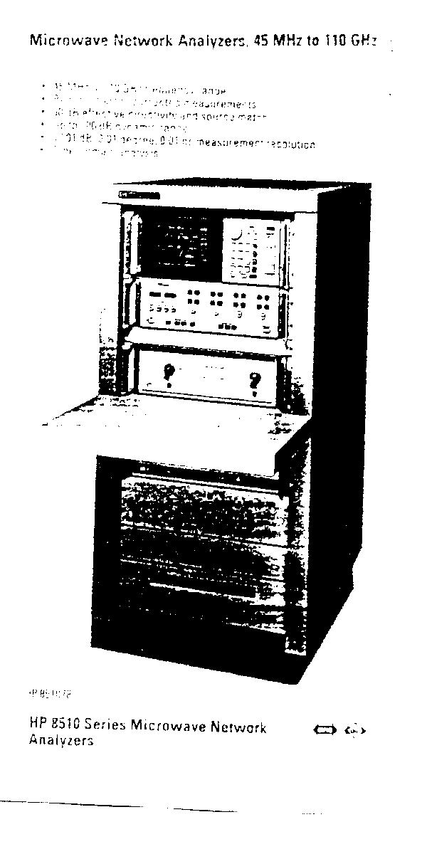 illustration - microwave network analyzer