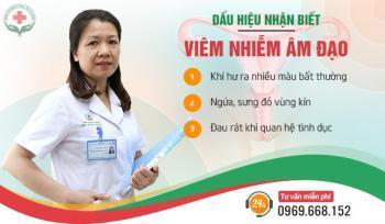 nhận biết viêm âm đạo