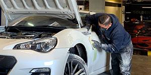 Subaru car repair Las Vegas Collision Center