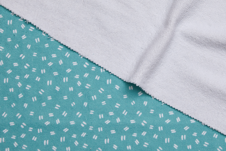 Cotton Backed Microfibre Printed Fabric
