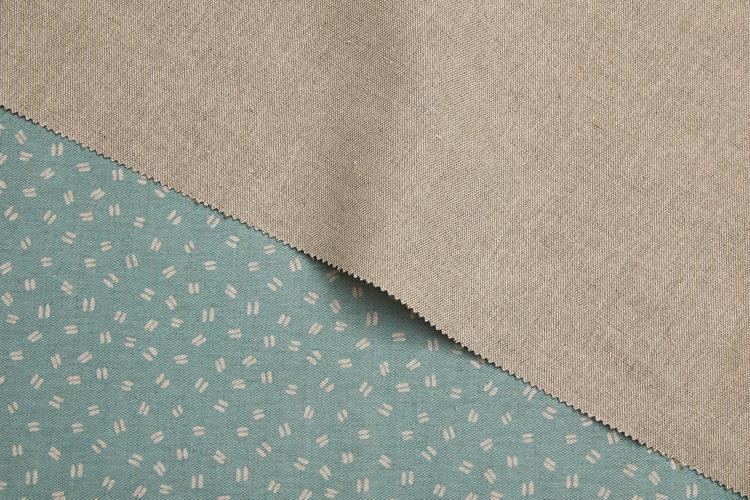 Killary Natural Printed Fabric