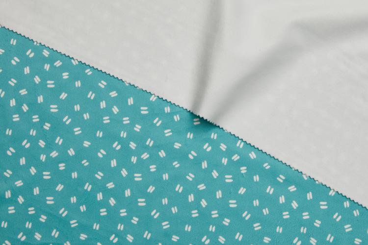Soft Touch Velvet Printed Fabric