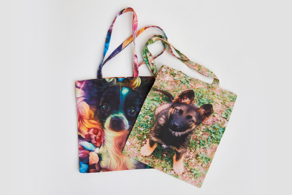 Commission Photo Print Cotton Tote Bags
